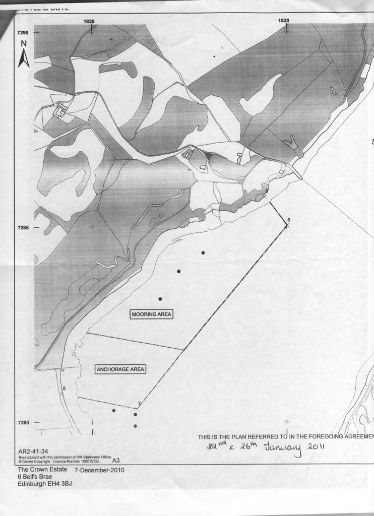 West Mooring Area